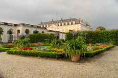Germany Chateau Augustusburg. Chateau Augustusburg, view from the garden, in Germany, Europe royalty free stock photo