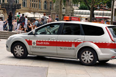 Germany, Cologne, 03.08.2014. In service. Royalty Free Stock Photos