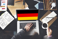 Germany Country Flag Nationality Culture Liberty Concept Royalty Free Stock Images