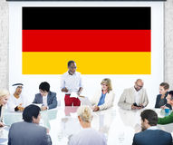 Germany Country Flag Nationality Culture Liberty Concept.  Stock Images