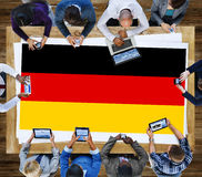 Germany Country Flag Nationality Culture Liberty Concept Stock Images