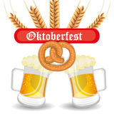 Germany cultures and oktober fest design. Royalty Free Stock Photography