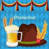Germany cultures and oktober fest design. Royalty Free Stock Image