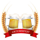 Germany cultures and oktober fest design. Stock Images