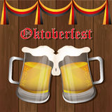 Germany cultures and oktober fest design. Stock Photo
