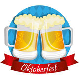 Germany cultures and oktober fest design. Royalty Free Stock Images