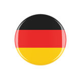 Germany 3d button Royalty Free Stock Image