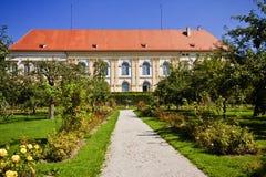 Germany, Dachau Renaissance castle dated XVI century and the bea Royalty Free Stock Photo