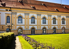 Germany, Dachau Renaissance castle dated XVI century from Schlos Stock Images