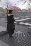 GERMANY/DEUTSCHLAND_Berlin Holocaust memorial Royalty Free Stock Photo