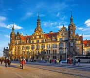Germany Dresden Royal Castle residence Stock Images