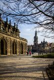 Germany, Dresden, 03.02.2014. Zwinger palace, art gallery and museum in Dresden, Germany stock images