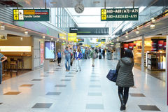 Germany, duty free shops in the Dusseldorf Airpor Royalty Free Stock Photography