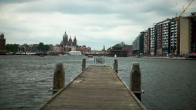 Germany embankment summer stock footage