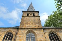 Germany - Essen. Essen - city in Ruhrgebiet (Ruhr Metropolitan Region) in Germany. The Cathedral Stock Images