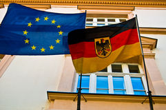Germany and the EU Royalty Free Stock Photo
