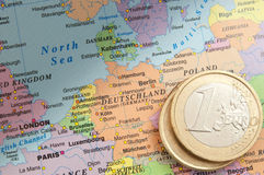 Germany and the euro Stock Photos