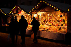 Germany fair. At night in Berlin Stock Photography