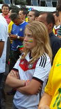 Germany fan Stock Photography