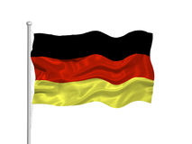 Germany Flag 2 Stock Image