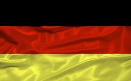 Germany Flag 3 Royalty Free Stock Photography