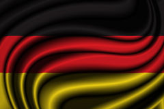 Germany Flag Royalty Free Stock Photo