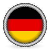 Germany flag button Royalty Free Stock Image