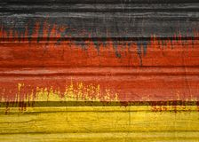 Germany flag design concept Royalty Free Stock Photos
