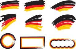 Germany_flag_frame 免版税库存图片