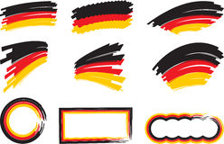 Germany_flag_frame Royalty Free Stock Image