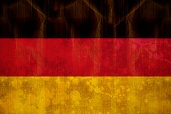 Germany flag in grunge effect Stock Image