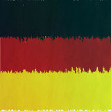 Germany flag in grunge Stock Photography