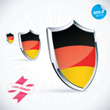 Germany Flag Royalty Free Stock Photography