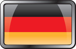 Germany Flag Icon. Royalty Free Stock Photography