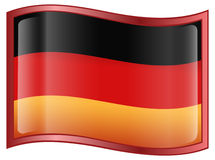 Germany Flag Icon Royalty Free Stock Photography