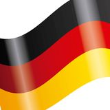 Germany flag  icon Stock Photography