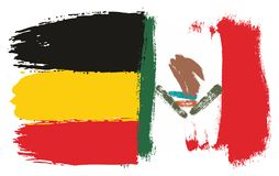 Germany Flag. This image is a vector illustration and can be scaled to any size without loss of resolution Royalty Free Stock Images