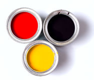 Germany Flag Paint Royalty Free Stock Image