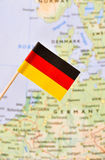 Germany flag royalty free stock photo