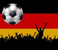 germany fotbolllag Royaltyfri Bild