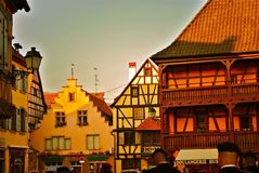 Germany. German Village edited for artistic value Royalty Free Stock Photo