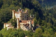germany grodowy hohenschwangau Zdjęcie Royalty Free