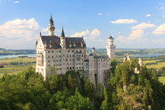 germany grodowy neuschwanstein Obrazy Stock
