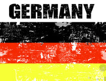 Germany grunge flag Stock Photos