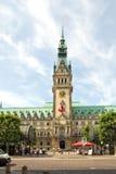 Germany, Hamburg, City Hall, Townhall Stock Image
