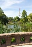 Germany, Hamburg, City Park Stock Image