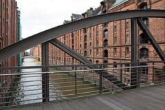 Germany, Hamburg, City of Warehouses. Famous City of Warehouses in Hamburg, Germany Stock Images