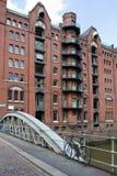 Germany, Hamburg, City of Warehouses. Famous City of Warehouses in Hamburg, Germany Stock Photography