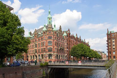 Germany, Hamburg, City of Warehouses. Famous City of Warehouses in Hamburg, Germany Royalty Free Stock Image