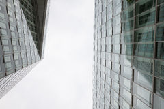 Germany, Hamburg, Office buildings, glass facades Stock Image